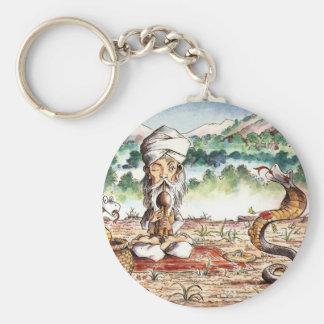 Shimmying Snake Keychain