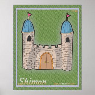Shimon Print