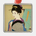 Shimura Tatsumi dos temas de mujeres japonesas Ornatos