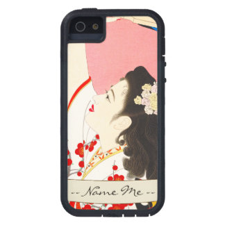 Shimura Tatsumi Five Figures of Modern Beauties Case For iPhone SE/5/5s
