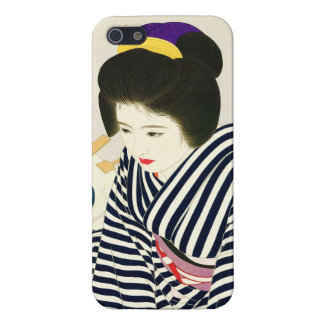 Shimura Tatsumi Five Figures of Modern Beauties Cover For iPhone SE/5/5s