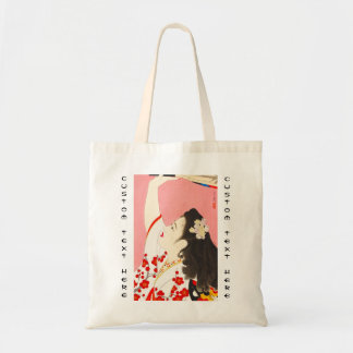 Shimura Tatsumi Five Figures of Modern Beauties Tote Bag