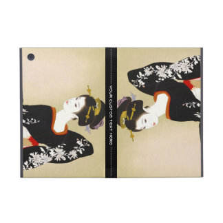 Shimura Tatsumi Two Subjects of Japanese Women Cover For iPad Mini