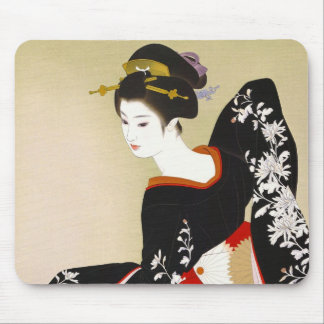 Shimura Tatsumi Two Subjects of Japanese Women Mouse Pad