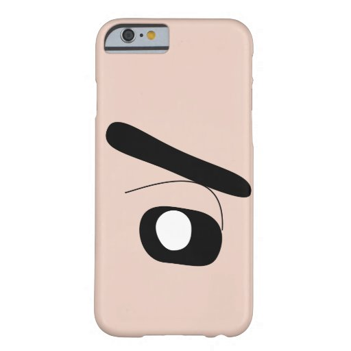Shin Chan pop-color shroud Barely There iPhone 6 Case