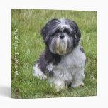 Shin Tzu dog cute photo album, binder, folder