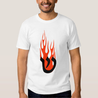 Shin with Flames T Shirt