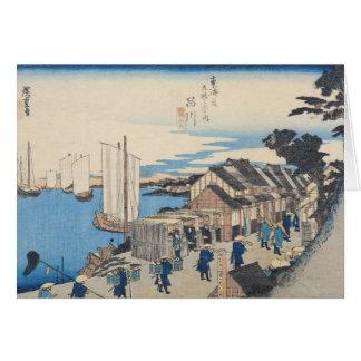 Shinagawa: departure of a Daimyo Card
