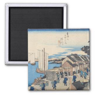 Shinagawa: departure of a Daimyo Magnet