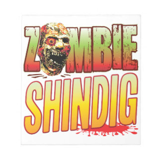 Shindig Zombie Head Scratch Pads