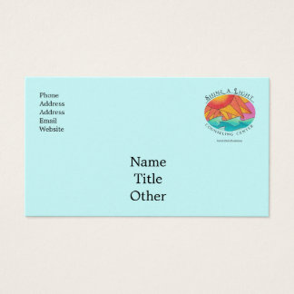 Shine a Light Counseling Center business card 4