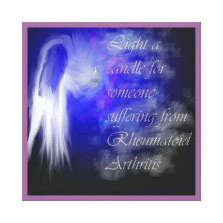 Shine A Light on Rheumatoid Arthritis Canvas Print