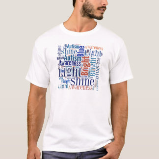 Shine Blue for Autism Products T-Shirt
