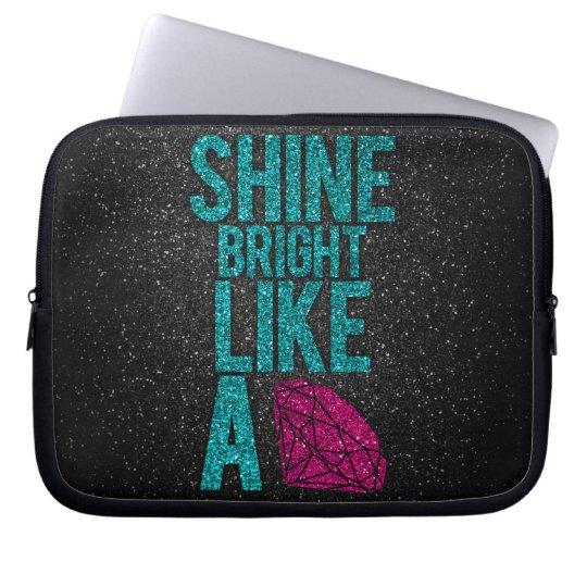 Shine Bright Computer Sleeve
