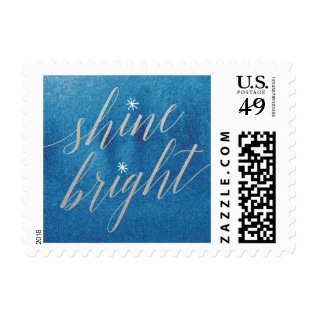Shine Bright Hanukkah Postage at Zazzle