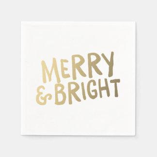 Shine Bright | Holiday Napkins Disposable Napkin