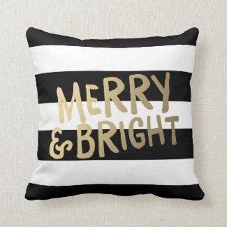 Shine Bright | Holiday Throw Pillow