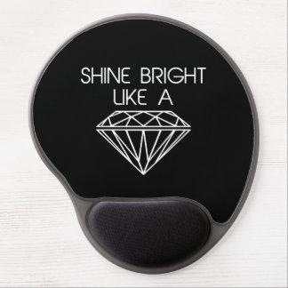 Shine Bright Like a Diamond Gel Mouse Pad