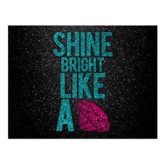 Shine Bright Postcard