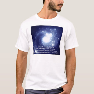 """SHINE"" Daniel 12:3 /mens t-shirt"