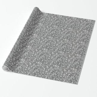 shine diamonds texture wrapping paper