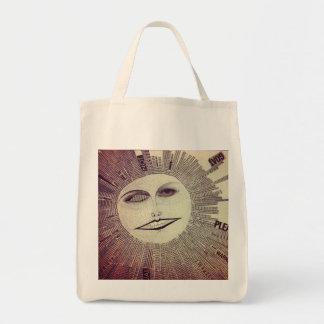shine grocery tote bag
