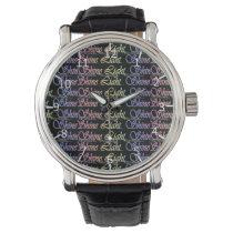 Shine Light Shine Pattern Watches