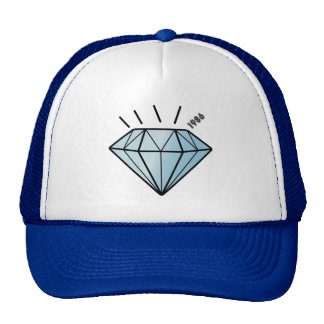Shine like a Cute Diamond Cartoon Graphic Hat
