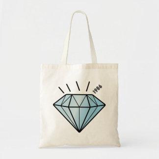 Shine like a Cute Diamond Cartoon Graphic Hat Canvas Bags