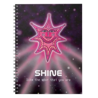 Shine Like A Star Notebook