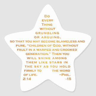 Shine Like Stars Star Stickers