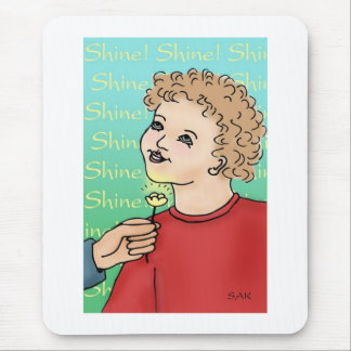Shine! Mouse Pad