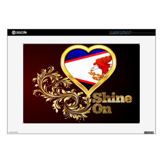 Shine On American Samoa Decal For Laptop