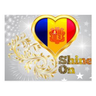Shine On Andorra Postcard