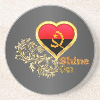 Shine On Angola Drink Coaster
