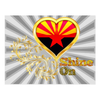 Shine On Arizona Postcard