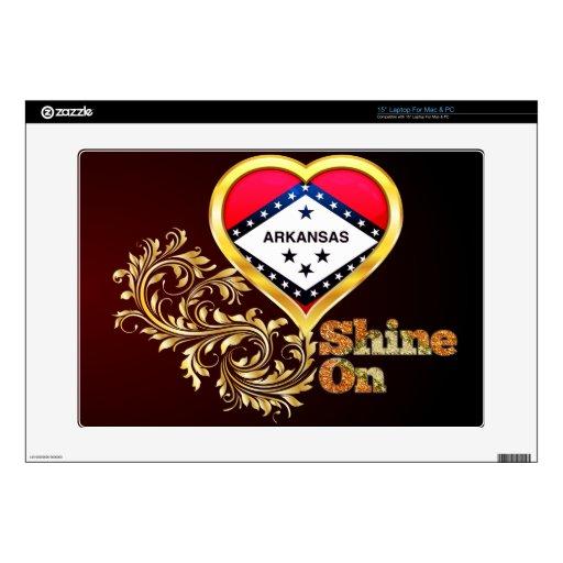 Shine On Arkansas Laptop Decal