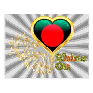 Shine On Bangladesh Postcard