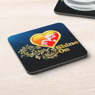 Shine On Bhutan Beverage Coasters