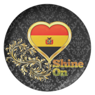 Shine On Bolivia Melamine Plate