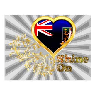 Shine On British Virgin Islands Post Card