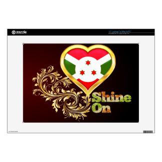 Shine On Burundi Laptop Skins