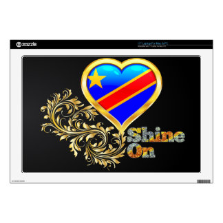 "Shine On Congo Decal For 17"" Laptop"