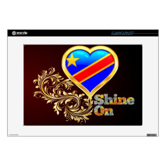 "Shine On Congo 15"" Laptop Decal"