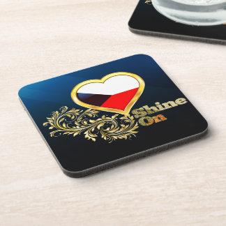 Shine On Czech Republic Coaster