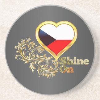 Shine On Czech Republic Sandstone Coaster