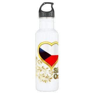 Shine On Czech Republic Stainless Steel Water Bottle