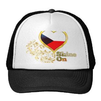 Shine On Czech Republic Trucker Hat
