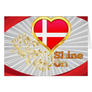 Shine On Denmark Greeting Cards