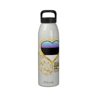 Shine On Estonia Reusable Water Bottle